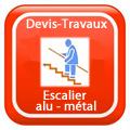 DEVIS-TRAVAUX-Escalier-alu-métal Devis Services