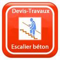 DEVIS-TRAVAUX-Escalier-béton Devis Services