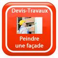 DEVIS-TRAVAUX-Façade-ravalement-enduit-Peindre Devis Services