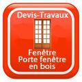 DEVIS-TRAVAUX-GRATUITS-Fenêtre - Porte fenêtre en bois Devis Services