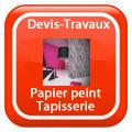 DEVIS-TRAVAUX-GRATUITS-Papier peint - Tapisserie Devis Services