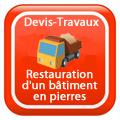 DEVIS-TRAVAUX-GRATUITS-Restauration d'un bâtiment en pierres Devis Services