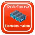 Devis-travaux-gratuits-Extension maison Devis Services