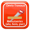 Devix-travaux-Menuiseries-alu-bois-pvc- Devis Services