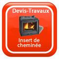 devis-travaux-rennes-Insert de cheminée Devis Services
