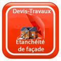 DEVIS-TRAVAUX-Façade-ravalement-enduit-Etanchéité de façade Devis Services
