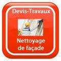 DEVIS-TRAVAUX-Façade-ravalement-enduit-Nettoyage Devis Services