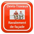 DEVIS-TRAVAUX-Façade-ravalement-enduit-Ravalement Devis Services
