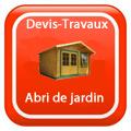 DEVIS-TRAVAUX-GRATUITS-Abri de jardin