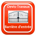 DEVIS-TRAVAUX-GRATUITS-Barrière d'entrée
