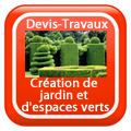 DEVIS-TRAVAUX-GRATUITS-Création de jardin et d'espaces verts
