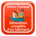 DEVIS-TRAVAUX-GRATUITS-Démolition complète d'un bâtiment