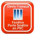 DEVIS-TRAVAUX-GRATUITS-Fenêtre - Porte fenêtre en PVC