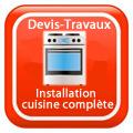 DEVIS-TRAVAUX-GRATUITS-Installation cuisine complète