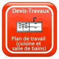 DEVIS-TRAVAUX-GRATUITS-Plan de travail (cuisine et salle de bains) Devis Services