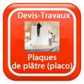 DEVIS-TRAVAUX-GRATUITS-Plaques de plâtre (placo) Devis Services