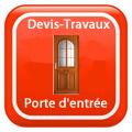 DEVIS-TRAVAUX-GRATUITS-Porte d'entrée