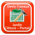Devix-travaux-Jardin-Clôture-Portail-rennes Devis Services