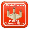 Devix-travaux-Plafond-Cloison-Plâtre