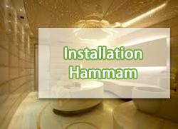 Installation-hammam