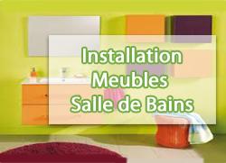 Installation meubles de salle de bains