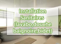 Installation-sanitaires-lavabo-douche-baignoire-bidet