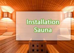 Installation-sauna