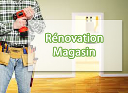 Rénovation magasin
