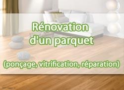 Rénovation-parquet-ponçage-vitrification-réparation Devis Services