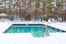 hivernage de la piscine température hivernage