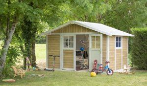 abri de jardin espace de jeux enfant spa