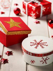 cadeaux de Noël emballage personnalisé