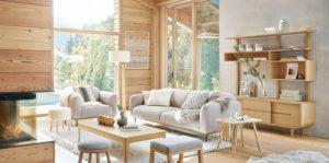 décoration scandinave mobilier déco séjour chambre à coucher